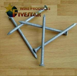 Hot dipped galvanized common nails