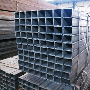 Suppliers EN10219 Black Square Steel Tube For Construction