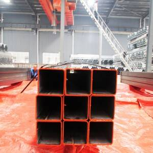structural 65mm box section steel