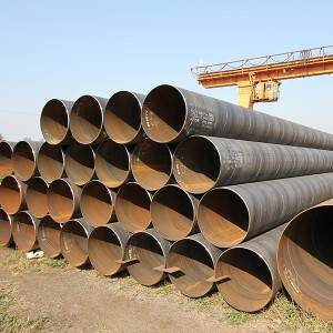 Spiral welded pipes/helical welded pipes