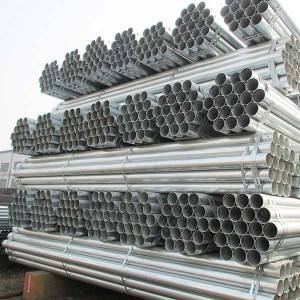 OEM/ODM China Glass Railing Welded Stainless Steel Pipes - Fixed Competitive Price China ASTM A53/BS1387 Threaded and Coupled Hot Dipped Galvanized Steel Pipe – FIVE STEEL
