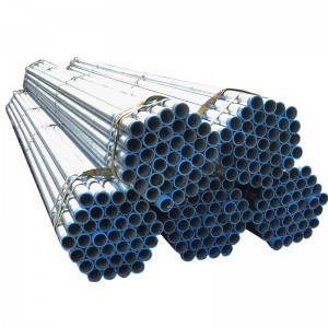 China Factory ASTM A53 Galvanized Structural Steel Tube