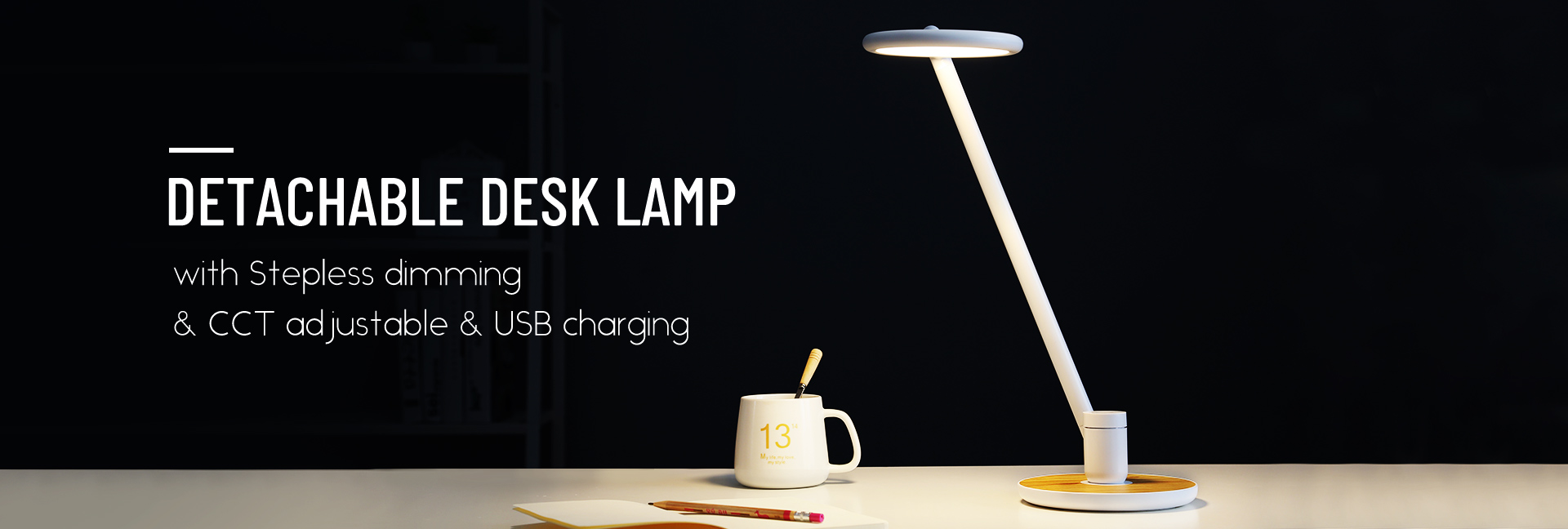Detachable Desk Lamp