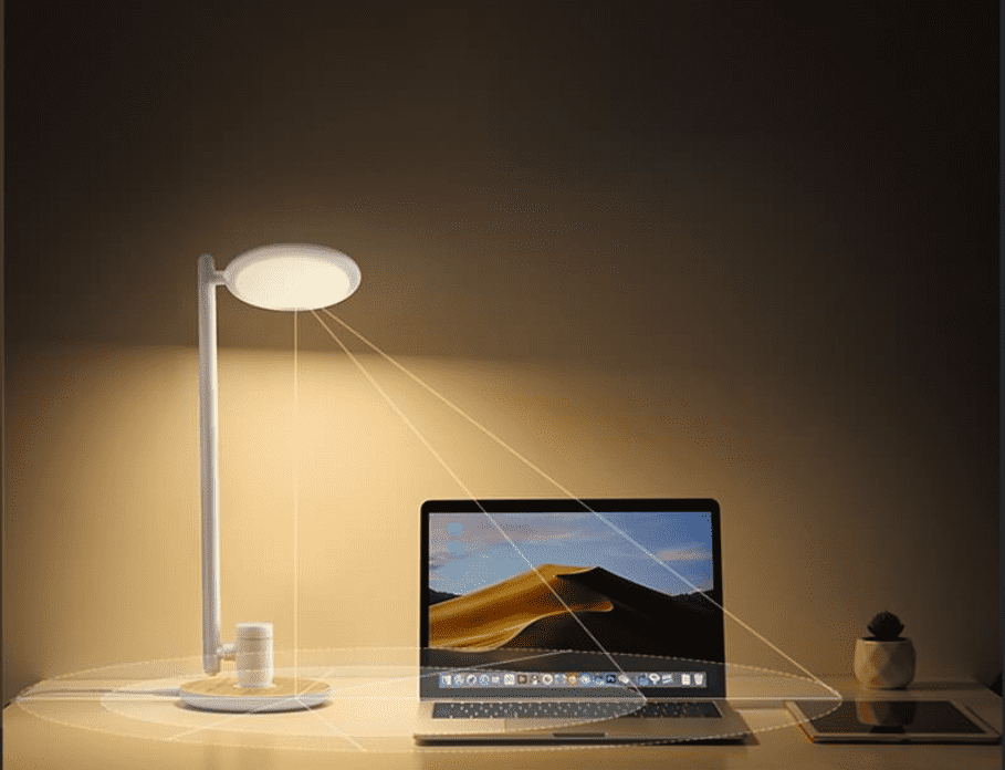 Is LED desk lamp good for eyes?