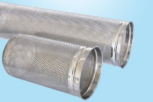 Bag type filter basket