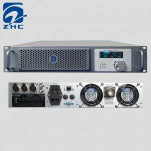 ZHC618F-1000W Light FM Stereo Transmitter-Analog Digital FM Transmitter-watt FM Transmitter Picture Show