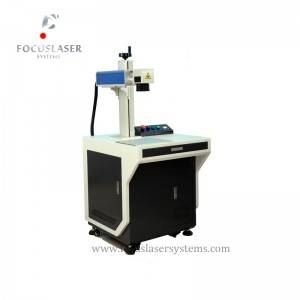 Focuslaser mopa laser engraving machine color marking machine for stainless steel