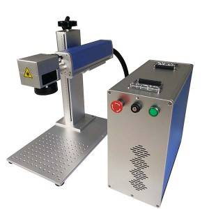 Free sample for Portable Fiber Laser Marking Machine Metal Laser Engraving Machine Fiber