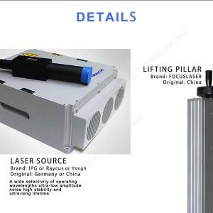 Original Factory Aluminum Platform Gold Alloy PlatCO2 flying Laser Marking Machine-FLYL30-B