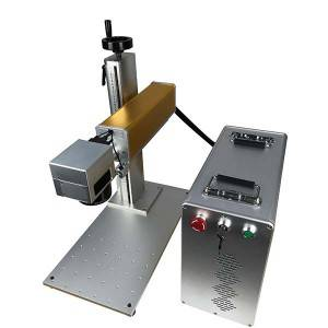 Factory Supply Laser Metal Marking Machine -