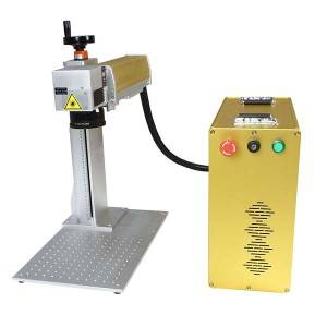 Newly Arrival China Portable Fiber Laser Cutting Marking Machine for Jewelry Gold Slivery (50W/60W)