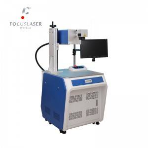 Focuslaser 3W UV laser engraving machine for glass crystal photo marking