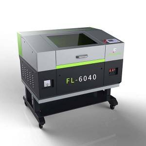Motorized Up-Down Table Laser Cutting Engraving Machine With Rotary Device