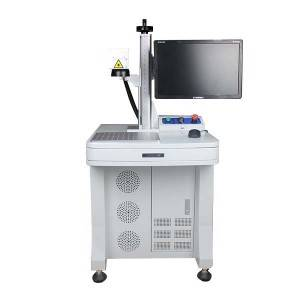 Fiber Laser Marking Mesin dengan Worktable-FLFB20-T