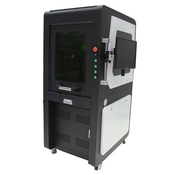 CE Certificate Metal Fiber Laser Cutting - Fiber Laser Marking Machine With Safety Cover – FOCUSLASER Featured Image