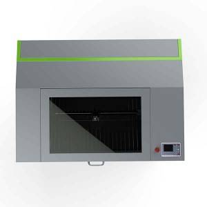 Motorised Up-Down Table Laser Cutting Gravuere Machine Mei Rotary Device