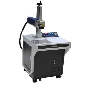 Low MOQ for New Product Steel Bearing Knife Fiber Laser Marking Machine