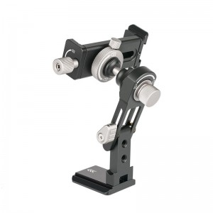 Universal 720 Degree Swivel Squeeze Twist Grip Smartphone Tripod Adapter Mount Clamp Bracket Holder