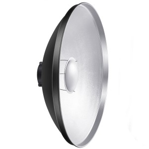 Aluminum Standard Photography 28″ / 70cm Beauty Dish Reflector for Bowens Mount Studio Strobe Flash Light