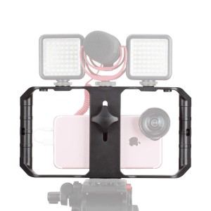 S Rig Pro Smartphone Video Rig, Filmmaking Case, Phone Video Stabilizer Grip Tripod Mount for Videomaker Film-Maker