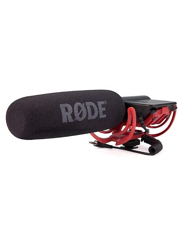 Rode VideoMic Directional Video Condenser Microphone with Mount Fuzzy Windjammer Kit