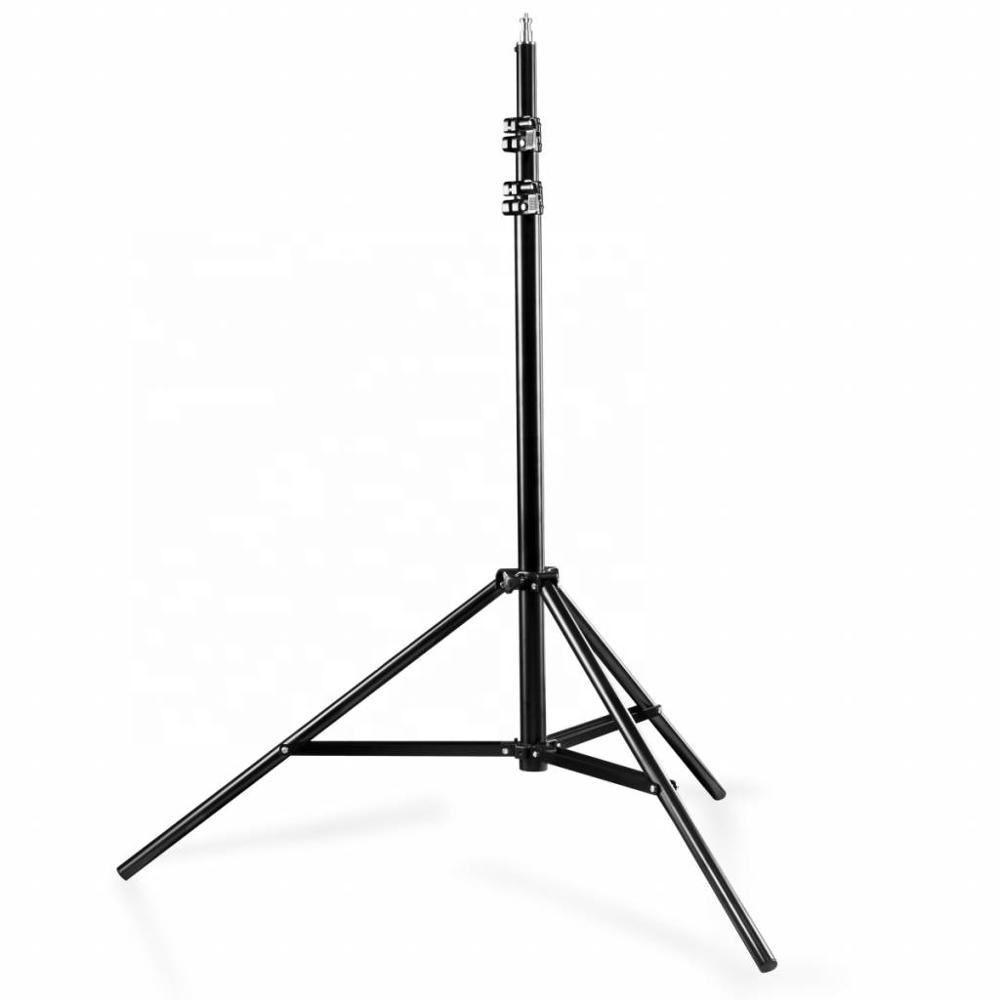 Heavy Duty Cushioned Studio Light Stand 2.6m for Video, Portrait, and Product Photography