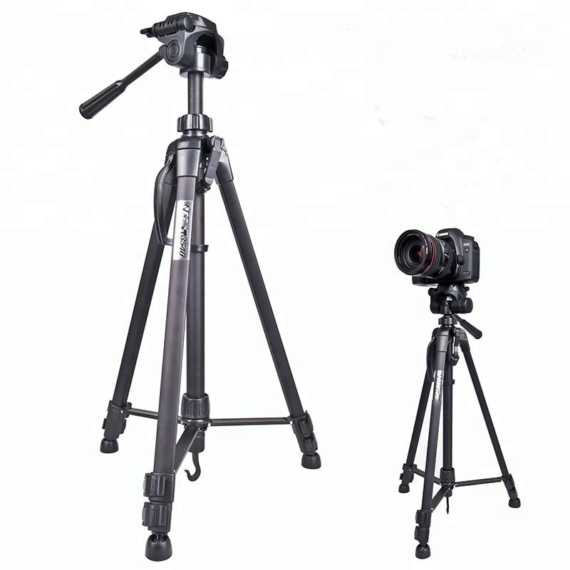 3520 Digital SLR Aluminum Travel Portable Tripod with Carry Bag For Camera Smartphone