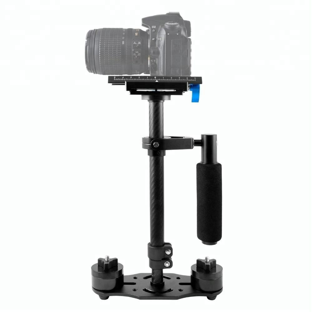 Carbon Fiber Portable Handheld Camera Stabilizer 60cm Pro S60C Adjustable Video Camera Steadycam steady