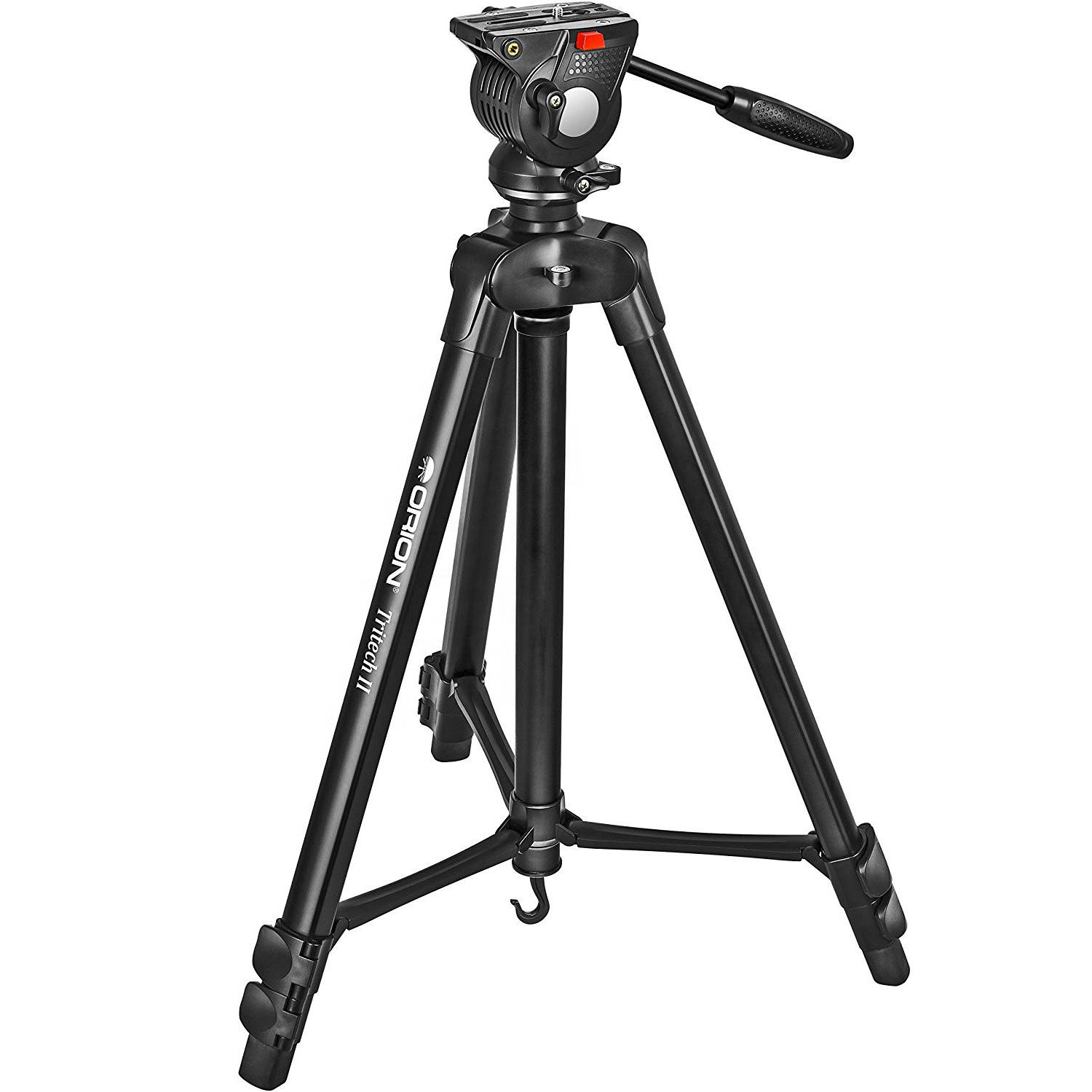 Video Camera Tripod  With Fluid Pan Head for spotting scopes, cameras, video cameras, binoculars and more