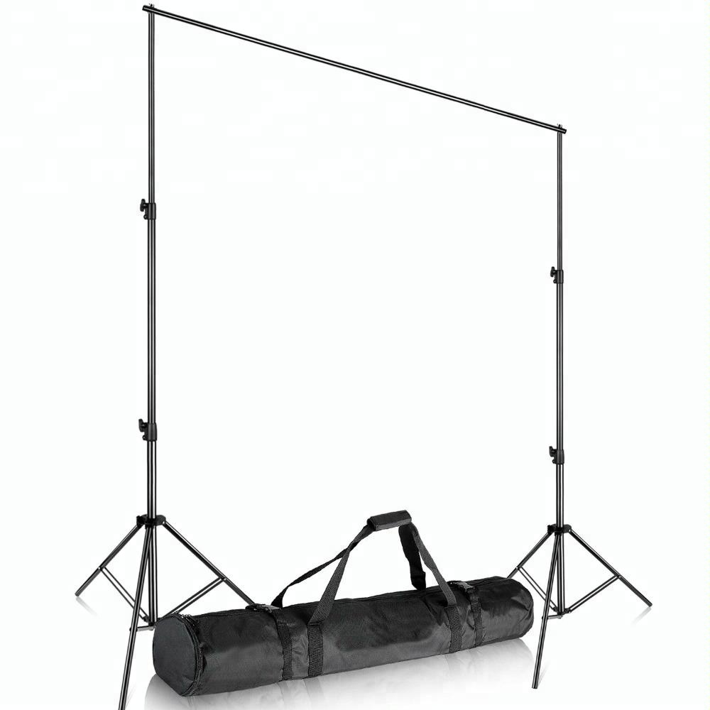 10×12 feet 3×3.6 Heavy Duty Adjustable Backdrop Support System Photography Studio Video Stand with Carrying Bag