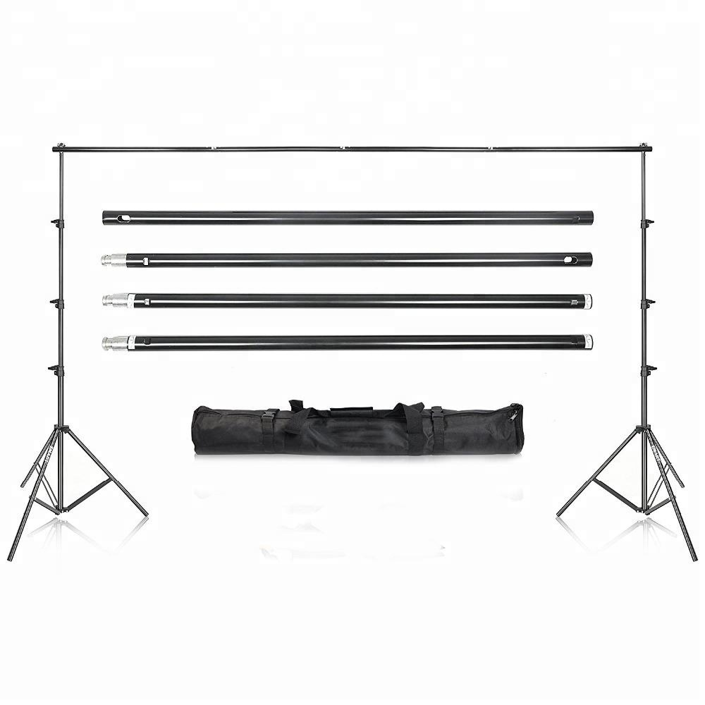 Photo Video Studio 9.2 x 10ft Heavy Duty Background Stand Backdrop Support System Kit with Carry Bag for Photography
