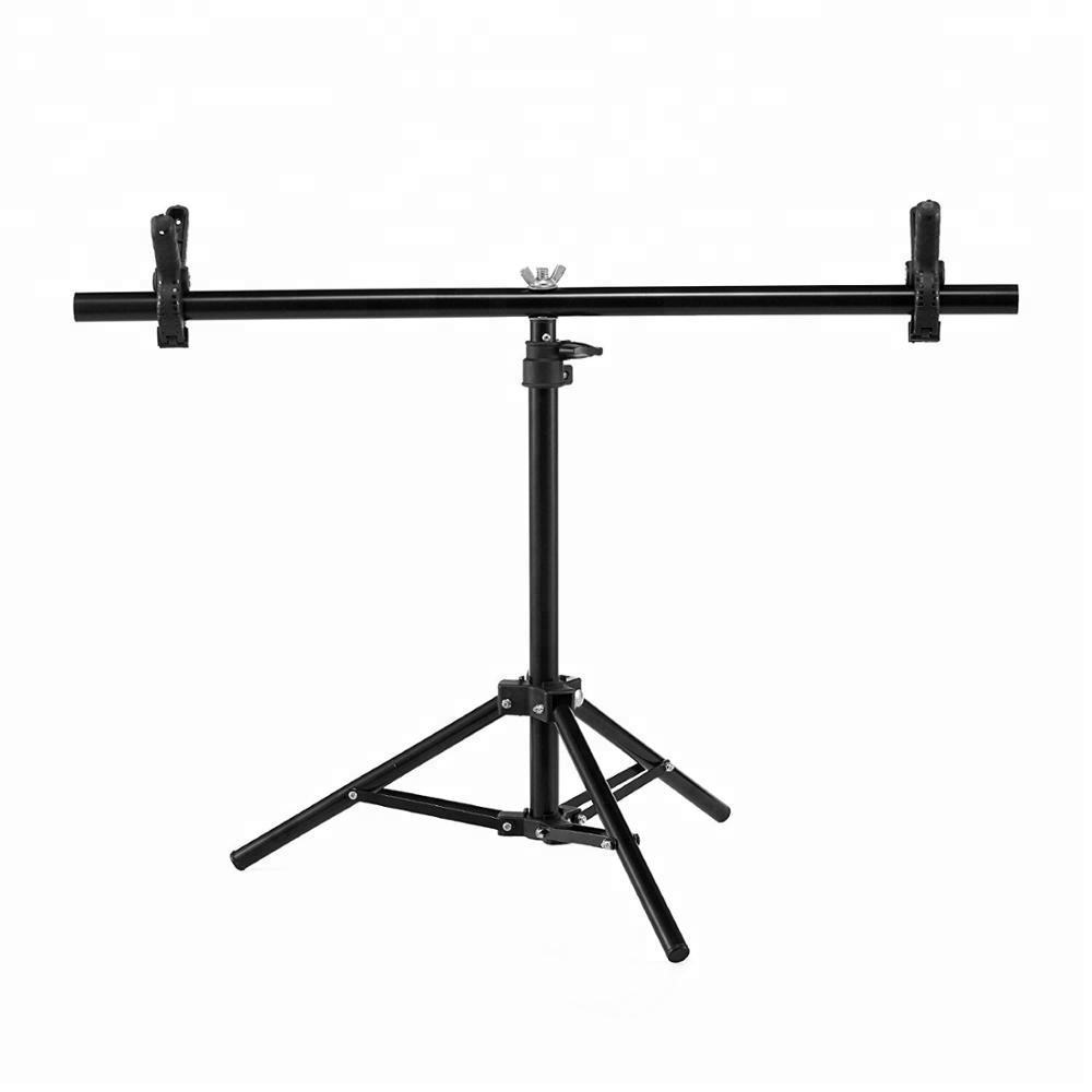 Retractable Portable T-shape Background Backdrop Support Stand