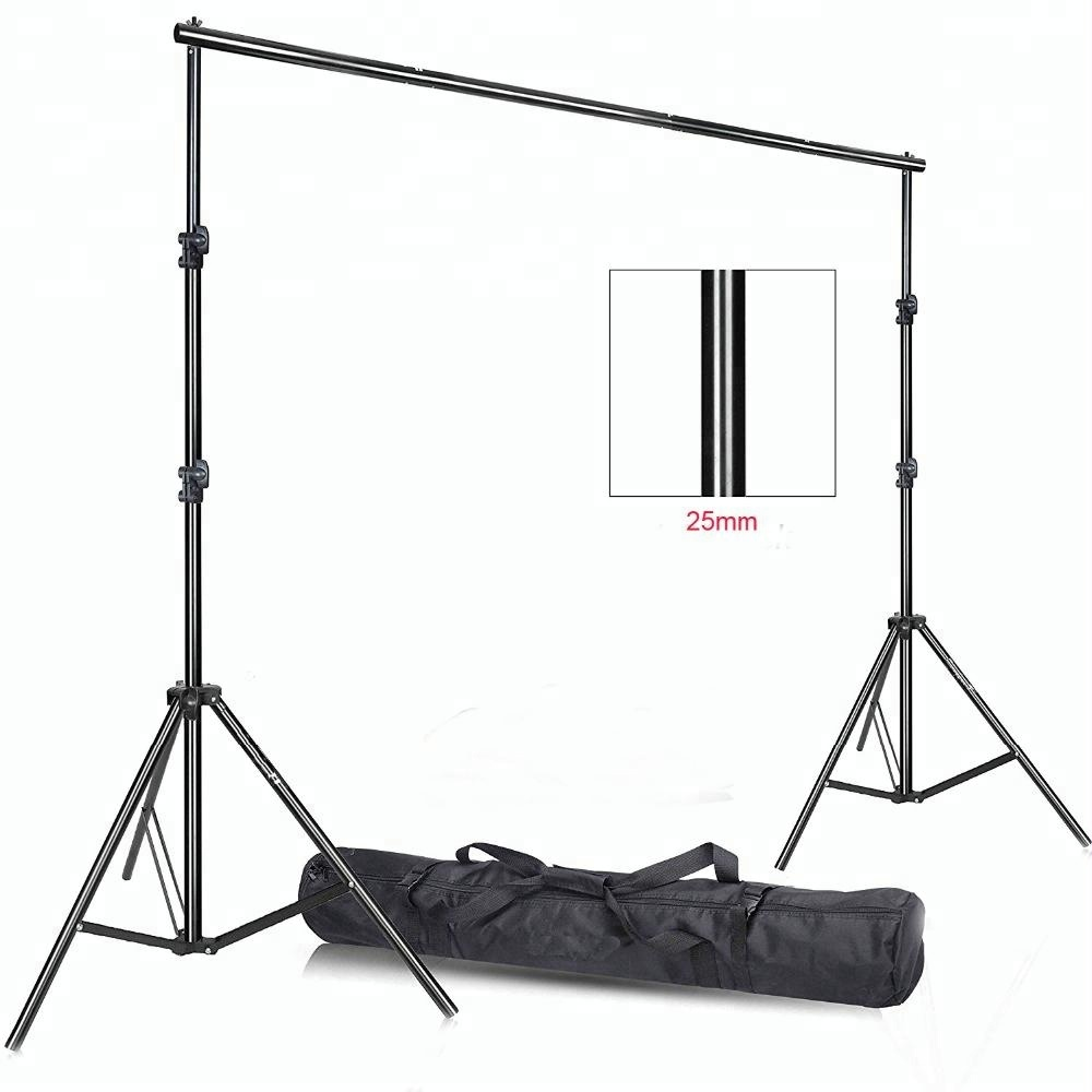 2.8x3m background stand Photo Video Studio Heavy Duty Backdrop Support System Kit for Photography Background Stand