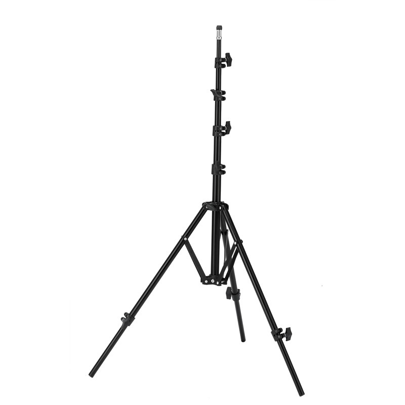 Reverse Leg Heavy Duty Light Stand Tripod Adjustable Stabilizer Legs Highly Versatile folds from Compact to Extra Tall