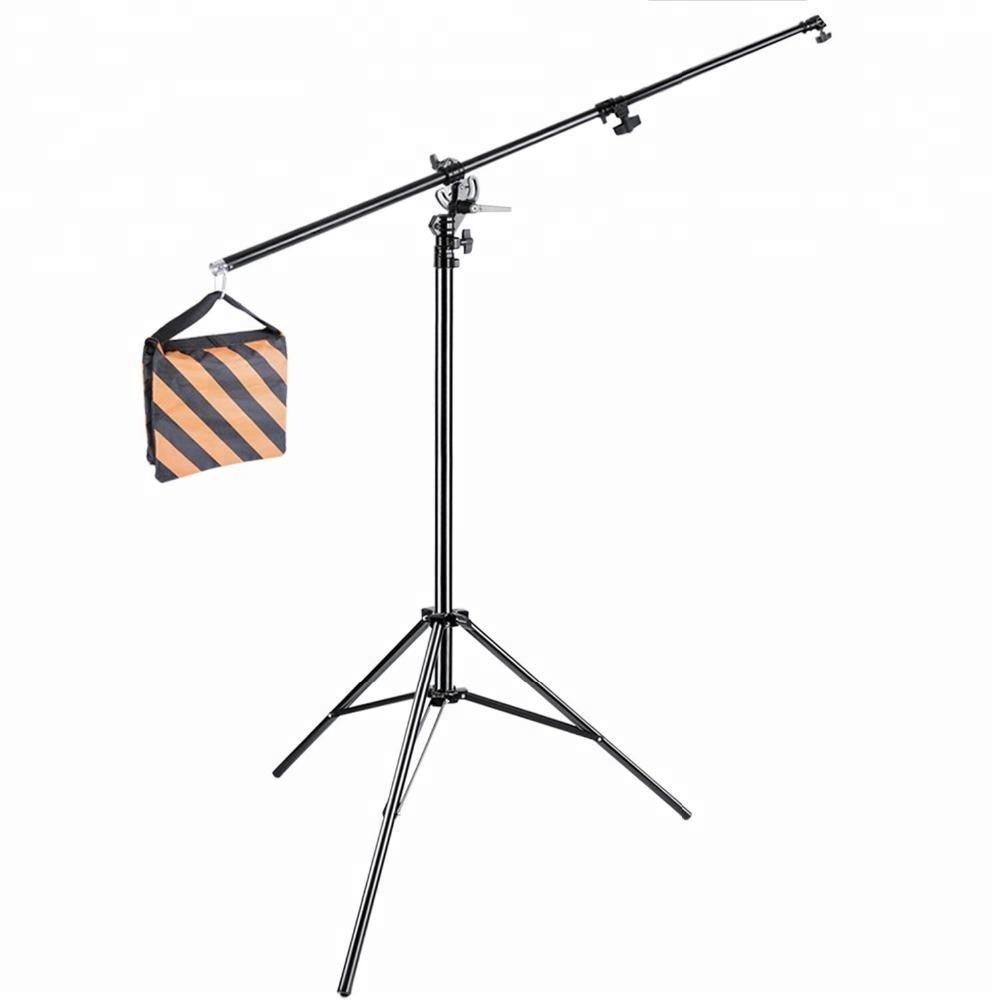 Two Way Rotatable Adjustable Light Boom Stand