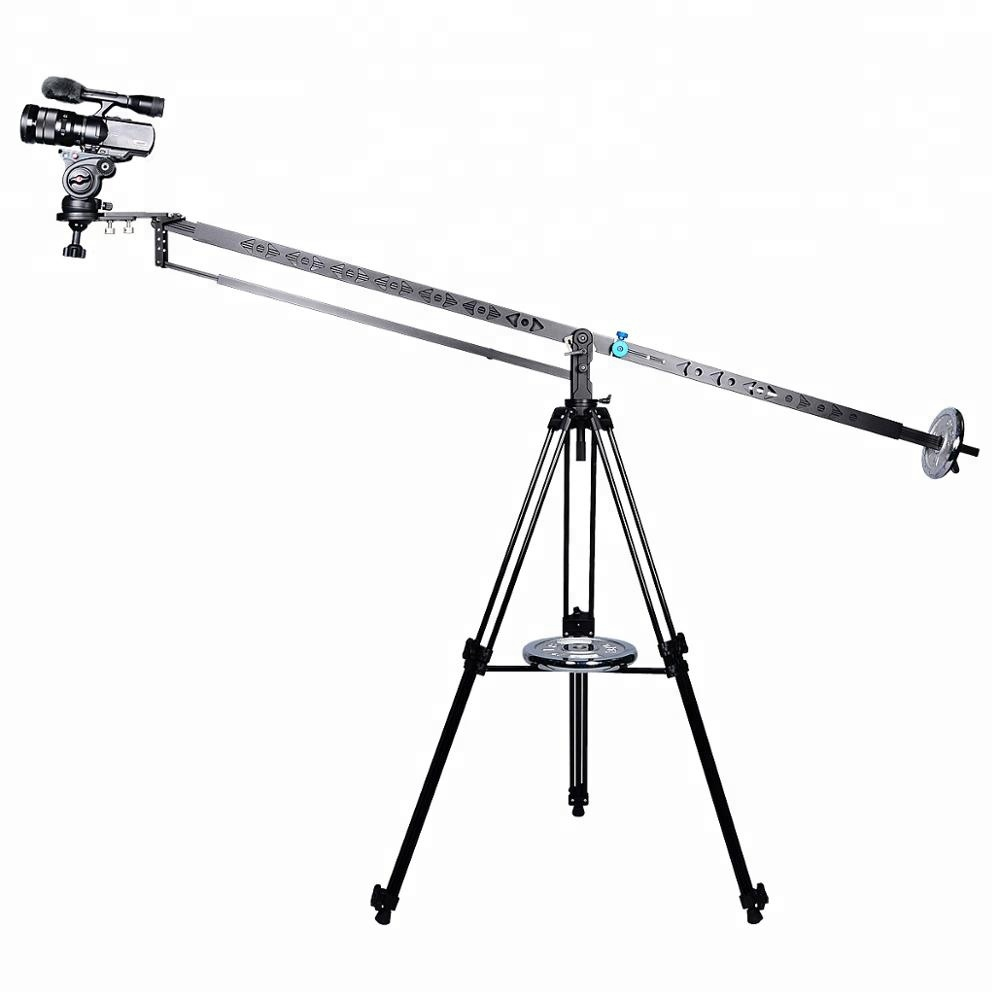 3m Professional DSLR Video Camera Extendable Tilt Arm Jib Crane with Counter weight Bowl for 65~75mm for SLR DV Photo Studio