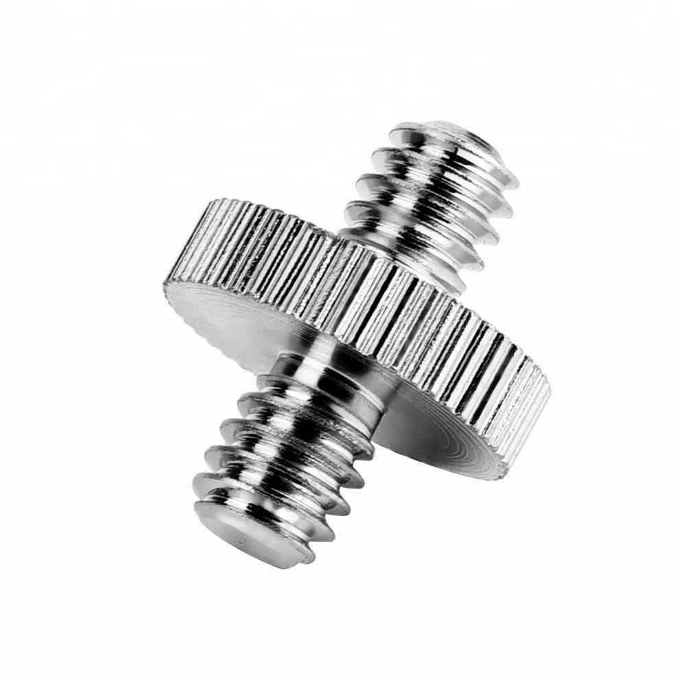 "1/4"" Male to 1/4"" Male Threaded Screw Adapter Converter"