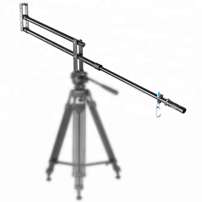 200cm Aluminum Portable Professional DSLR Video Camera Extension Arm Mini Jib Crane with for SLR DV Photo Studio With Bag