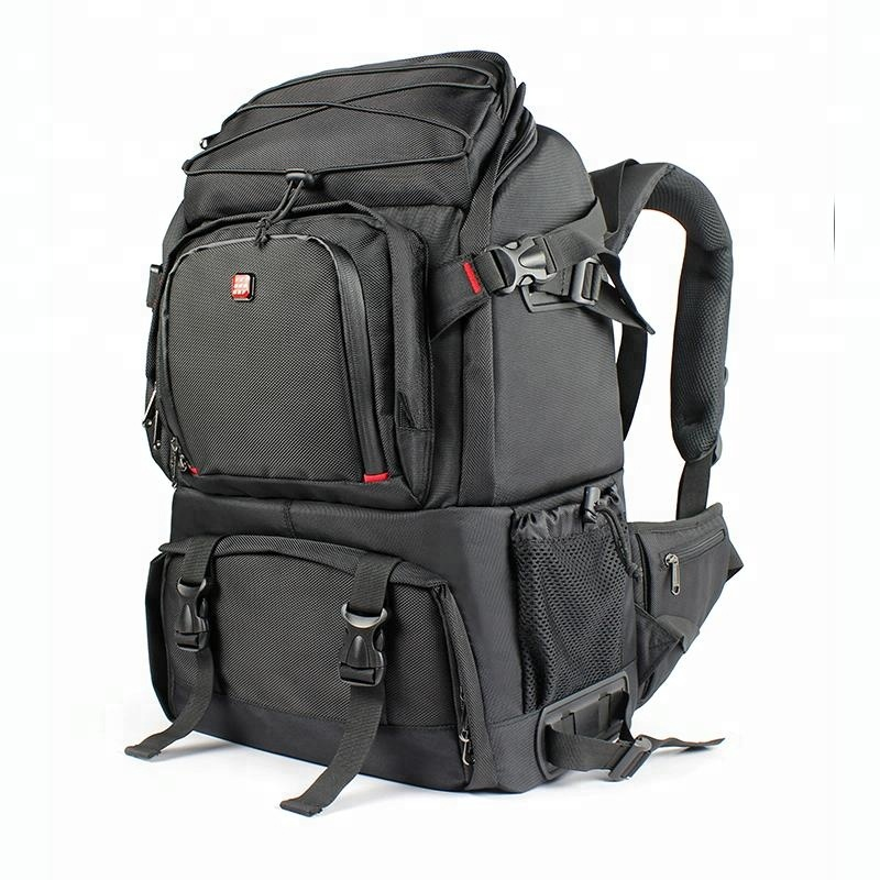 Large DSLR Camera Bag Laptop Travel Backpack Featured Image