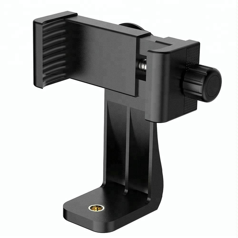 Universal Cell Phone Clamp Tripod Mount Adapter