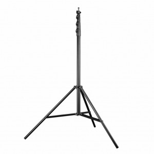 4m Heavy Duty Air Cushioned Studio Light Stand for Video, Portrait, and Product Photography