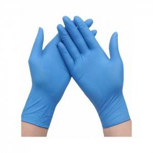 Nitrile Examination gloves disposable nitrile gloves powder free Blue 100 Packs