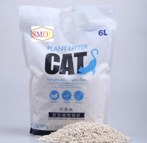 OEM Supply China Activated Carbon Tofu Cat Litter 2020