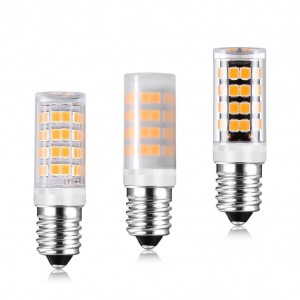 No Flicker E14 LED Lamp 85V-265V 5W 52LEDS MD2835 E12 LED Spotlight Bulb Replace 40W Halogen Light For Chandelier lighting