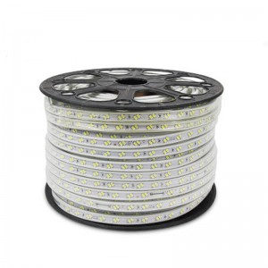 Flexible LED Strip Light AC220V SMD5730 120ledsm Waterproof IP67 Led Tape LED Light With EU Power Plug 1M2M3M8M10M12M20M