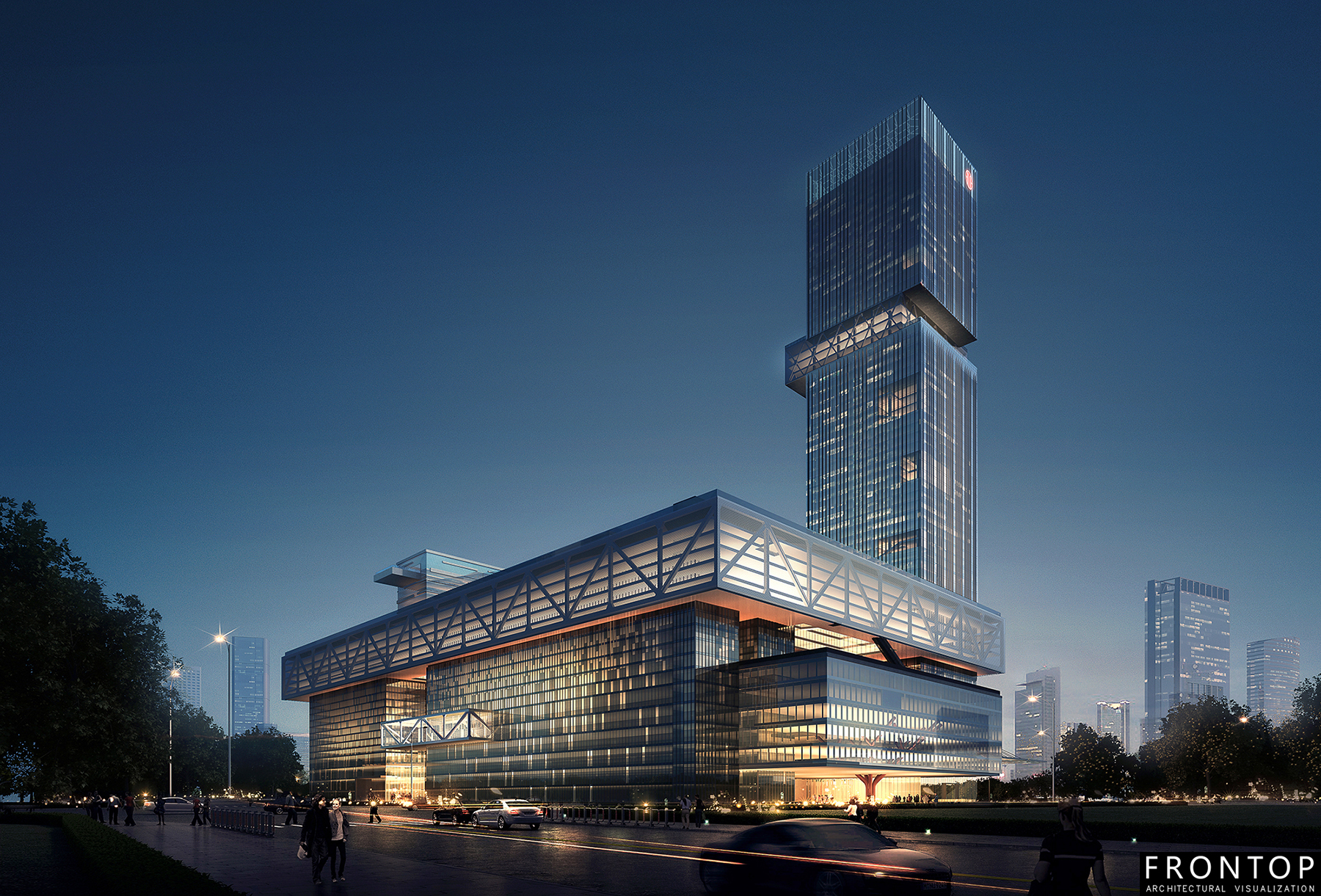 Well-designed Chinese Architectural Visualization Service - Guangzhou International Purchasing Center – Frontop Featured Image