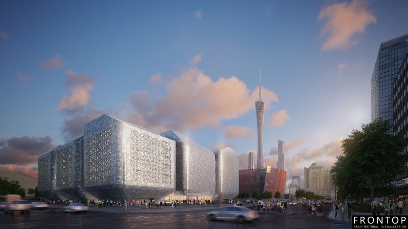 Factory making Design Architectural - Guangzhou Science Museum – Frontop