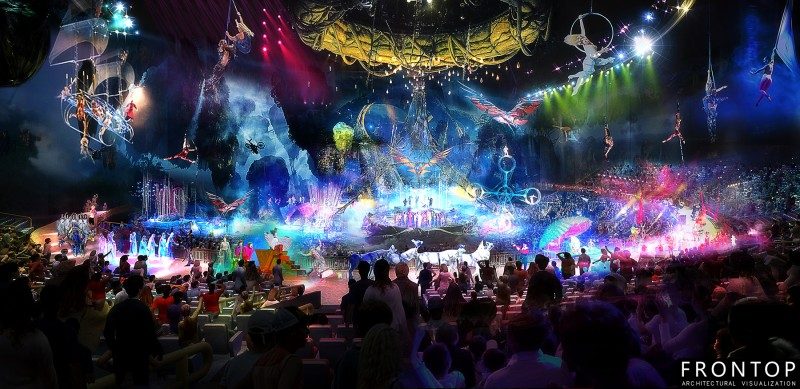 8 Year Exporter 3d Max Interior Design - Zhuhai Changlong New Circus Project – Frontop