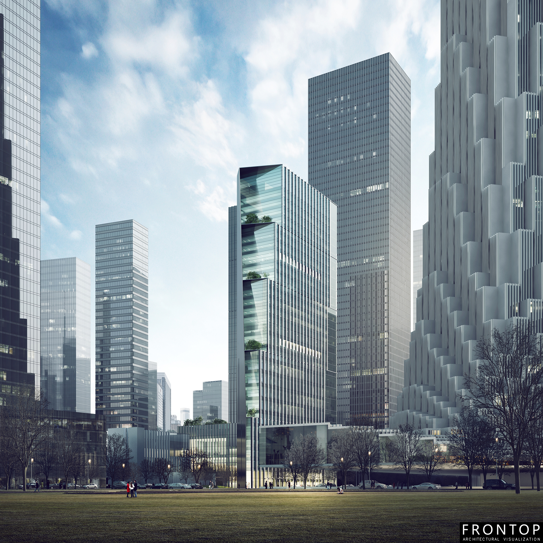New Fashion Design for Architectural Visualization Company China -