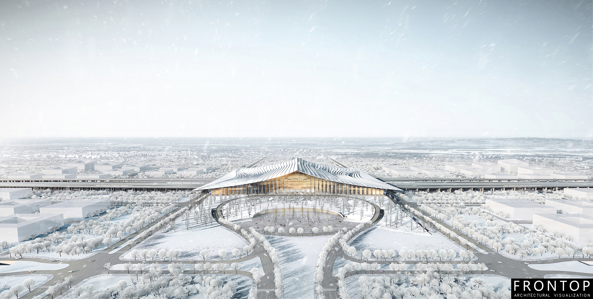 Massive Selection for Multiple Perspectives Display Showcase -